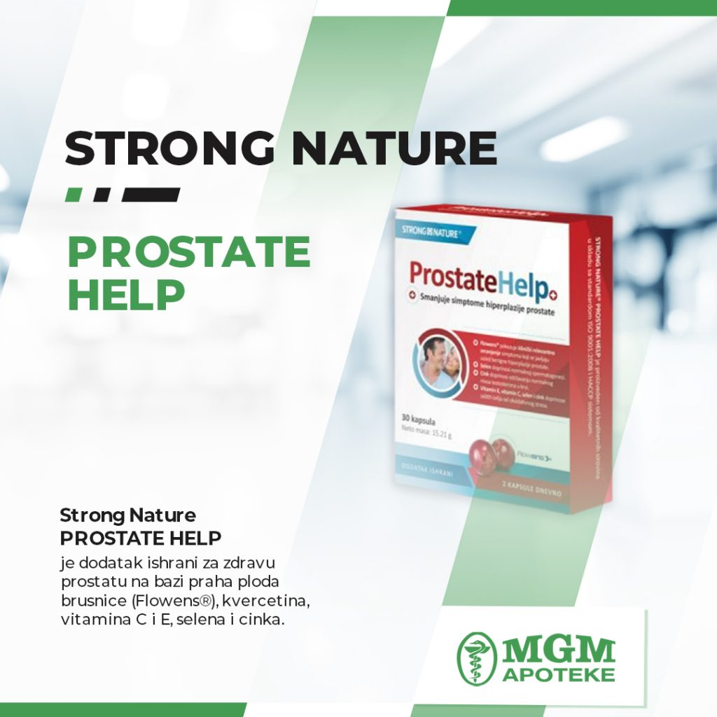 strong nature prostate help