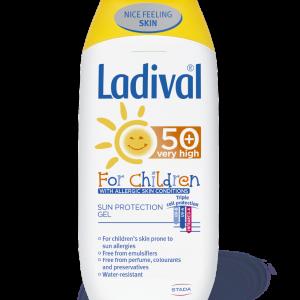Ladival gel za zastitu od sunca za djecu sa alergicnom kozom, SPF 50+, 200ml